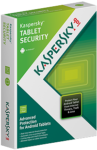 Kaspesky Tablet Security
